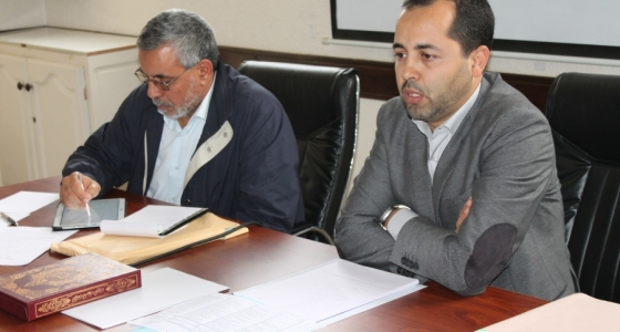الكتابة الإقليمية أكادير إداوتنان تواصل عقد لقاءاتها التنظيمية   :